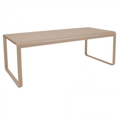 Table BELLEVIE de Fermob muscade