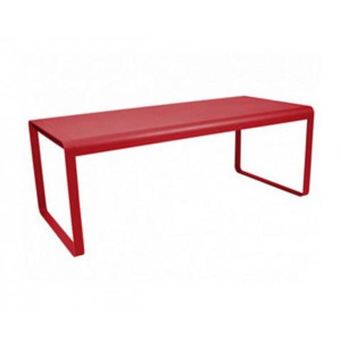 Table BELLEVIE de Fermob piment