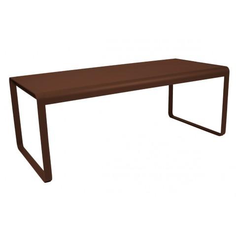 Table BELLEVIE de Fermob rouille