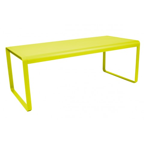 Table BELLEVIE de Fermob verveine
