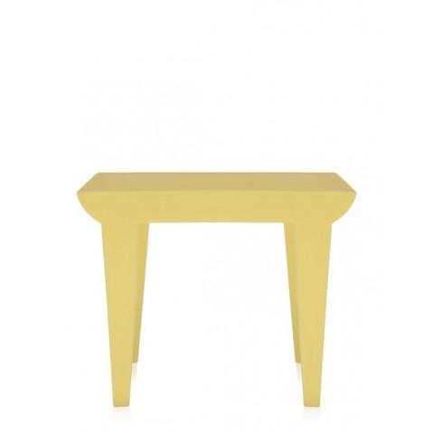 Table BUBBLE de Kartell, Jaune clair
