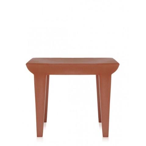 Table BUBBLE de Kartell, Rouge Terre