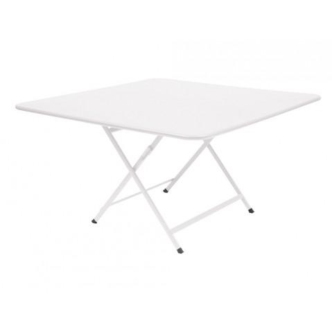 Table CARACTÈRE de Fermob, Blanc coton