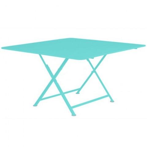 Table CARACTÈRE de Fermob Bleu lagune