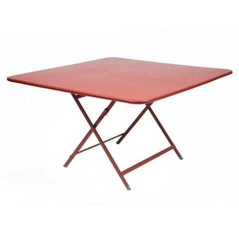 Table CARACTÈRE de Fermob, Coquelicot