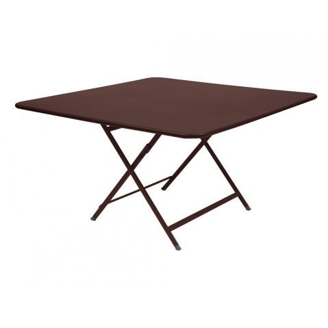 Table CARACTÈRE de Fermob, Rouille