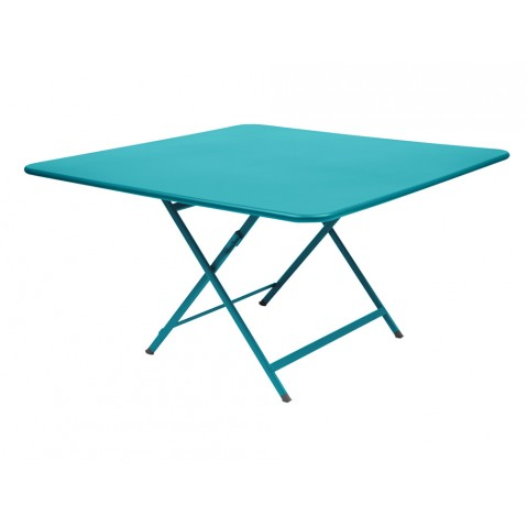 Table CARACTÈREde Fermob, Bleu turquoise