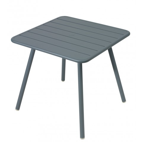 Table carrée 4 pieds LUXEMBOURG de Fermob, 24 coloris