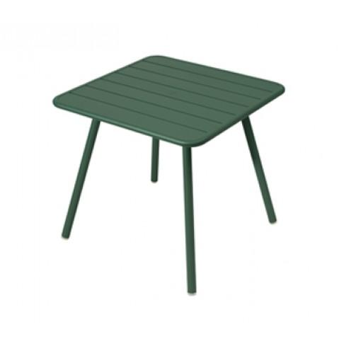 Table carrée 4 pieds LUXEMBOURG de Fermob, Cèdre