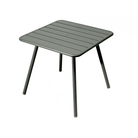 Table carrée 4 pieds LUXEMBOURG de Fermob, Romarin