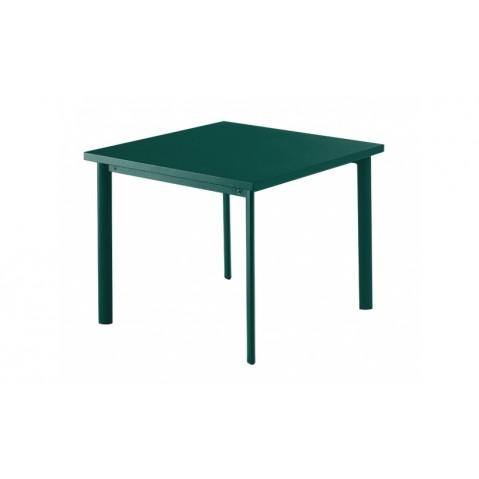 Table carrée 90x90 STAR de Emu-Bleu