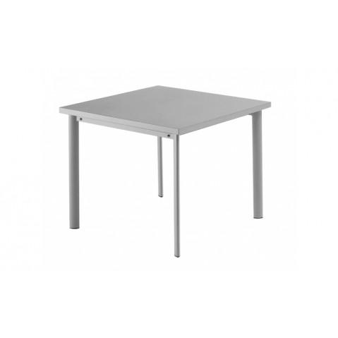 Table carrée 90x90 STAR de Emu, Aluminium