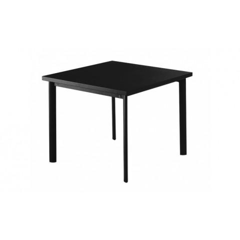 Table carrée 90x90 STAR de Emu, Noir