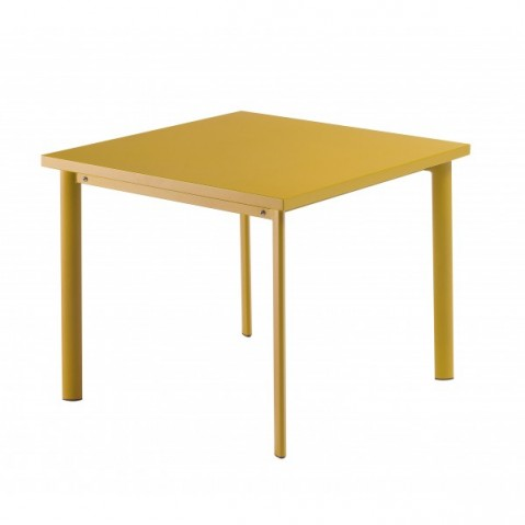 Table carrée 90x90 STAR de Emu, Orange