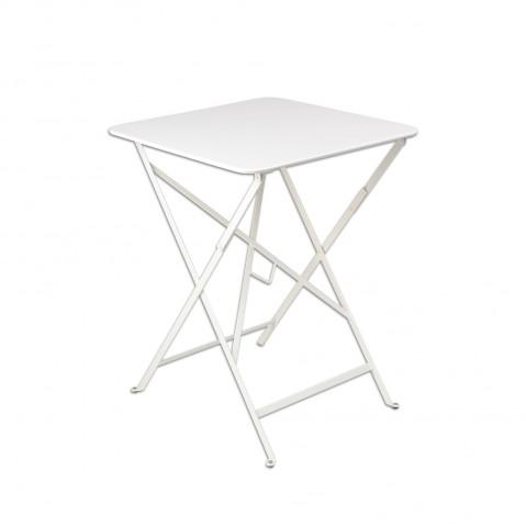 Table carrée BISTRO 57x57 blanc de Fermob