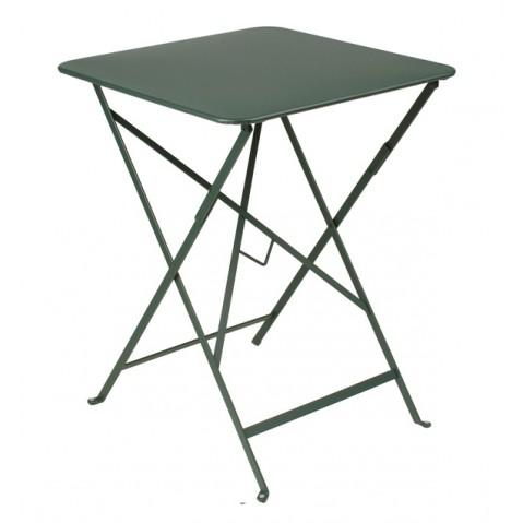 Table carrée BISTRO 57x57 cèdre de Fermob