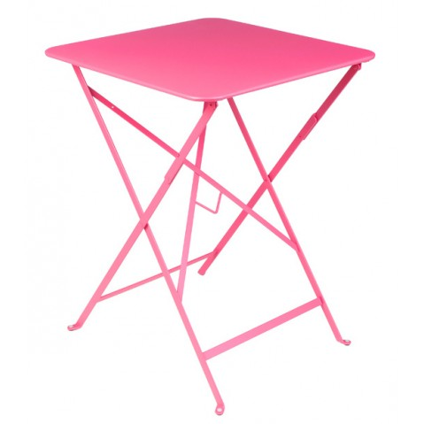 Table carrée BISTRO 57x57 fuschia de Fermob