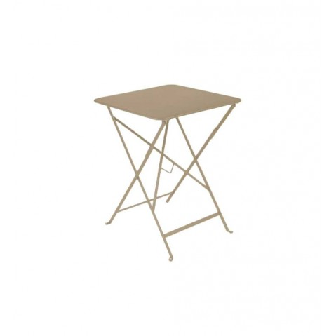 Table carrée BISTRO 57x57 muscade de Fermob