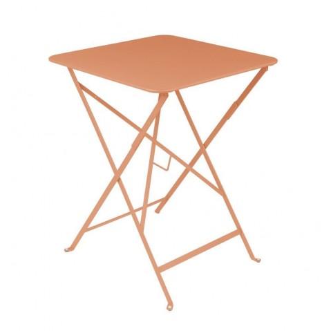 Table carrée BISTRO 57x57 paprika de Fermob