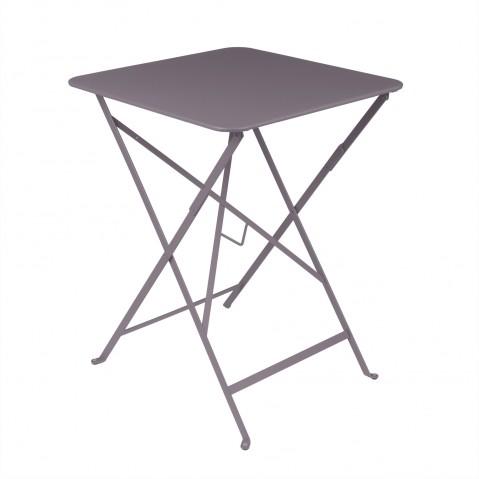 Table carrée BISTRO 57x57 Prune de Fermob