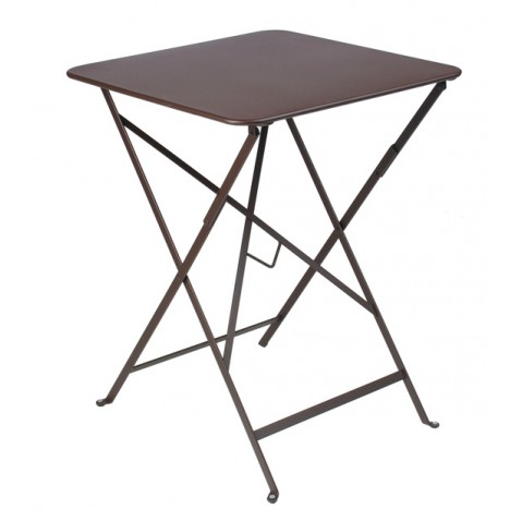 Table carrée BISTRO 57x57 rouille de Fermob
