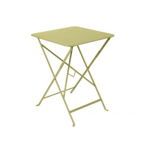 Table carrée BISTRO 57x57 tilleul de Fermob