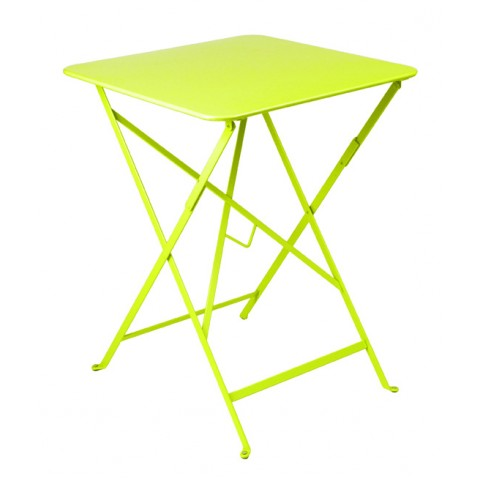 Table carrée BISTRO 57x57 verveine de Fermob