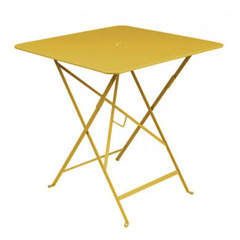 Table carrée BISTRO 71x71 Miel de Fermob