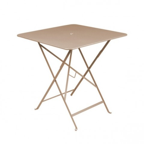 Table carrée BISTRO 71x71 muscade de Fermob