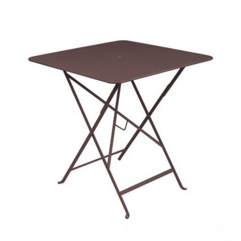 Table carrée BISTRO 71x71 rouille de Fermob