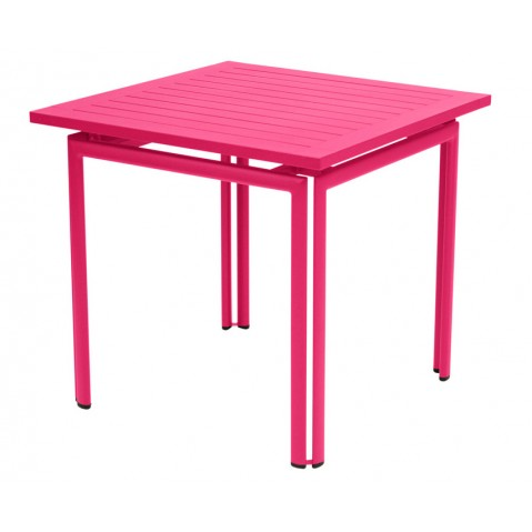 Table carrée COSTA de Fermob, 23 coloris