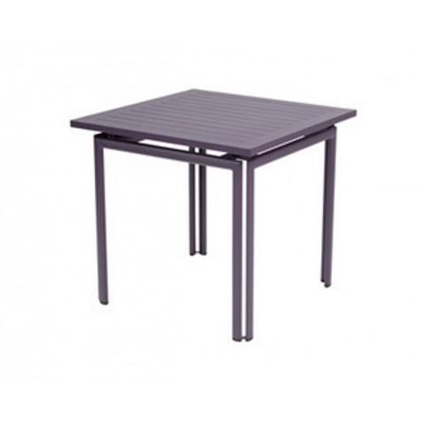 Table carrée COSTA de Fermob, Prune