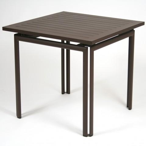 Table carrée COSTA de Fermob rouille