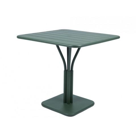 Table carrée LUXEMBOURG de Fermob cèdre