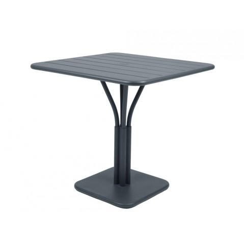 Table carrée LUXEMBOURG de Fermob gris orage