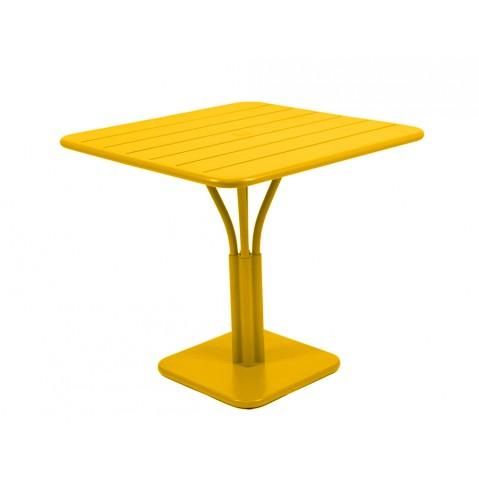 Table carrée LUXEMBOURG de Fermob, Miel
