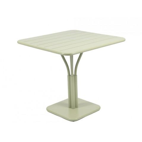 Table carrée LUXEMBOURG de Fermob tilleul