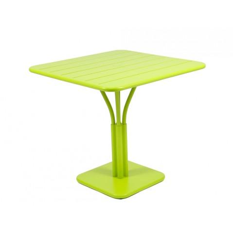 Table carrée LUXEMBOURG de Fermob verveine