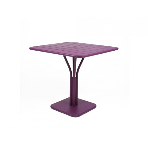 Table carrée LUXEMBOURG Fermob aubergine