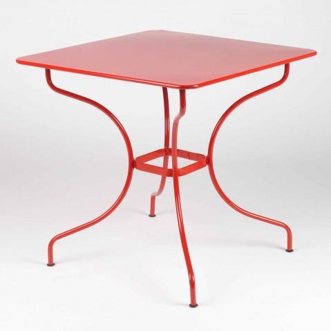 Table carrée OPÉRA de Fermob, Capucine