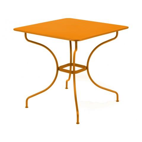 Table carrée OPÉRA de Fermob carotte