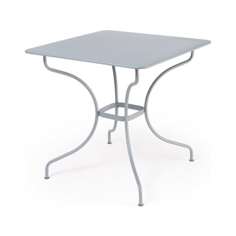 Table carrée OPÉRA de Fermob gris métal