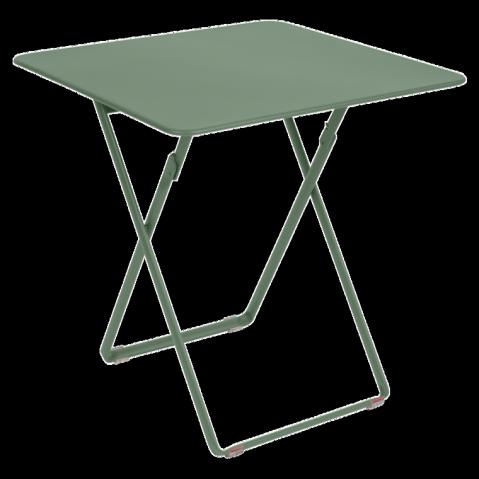 Table carrée PLEIN AIR de Fermob, 23 coloris