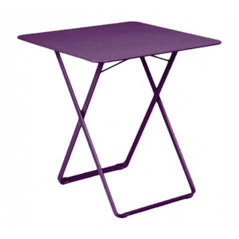 Table carrée PLEIN AIR de Fermob aubergine