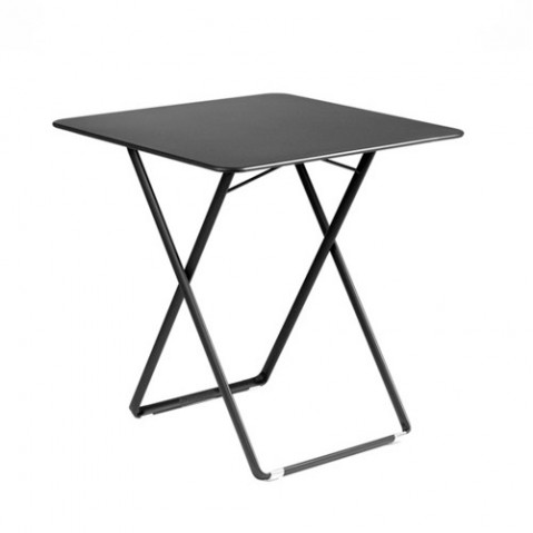 Table carrée PLEIN AIR de Fermob Carbone