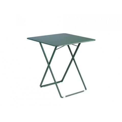 Table carrée PLEIN AIR de Fermob cèdre