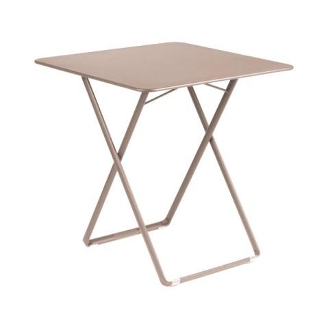 Table carrée PLEIN AIR de Fermob muscade