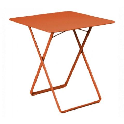 Table carrée PLEIN AIR de Fermob paprika