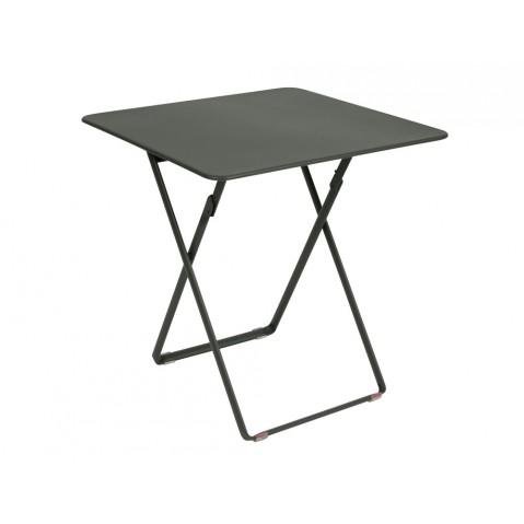 Table carrée PLEIN AIR de Fermob Romarin