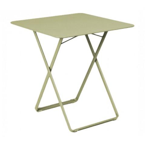 Table carrée PLEIN AIR de Fermob tilleul